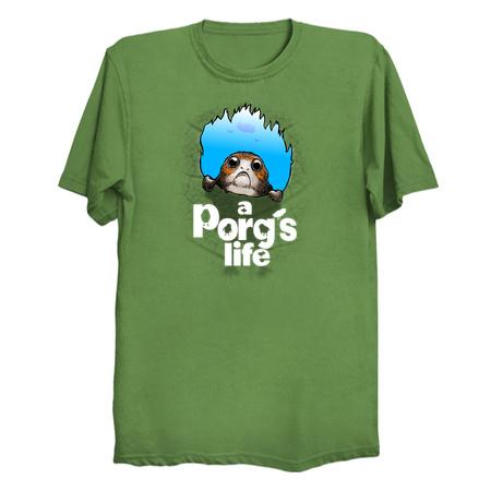 A Porg's life - Star Wars Parody T-Shirt