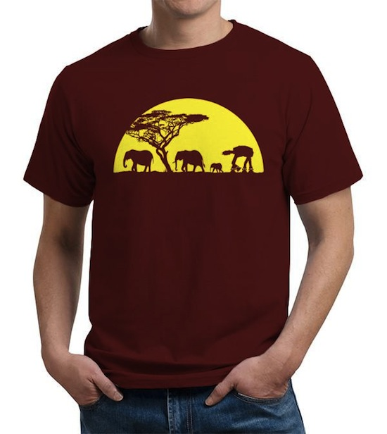 AT-AT Far From Home Tee