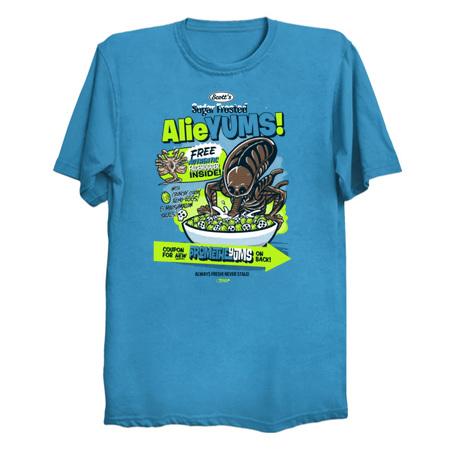 AlieYUMS Aliens Parody Tee