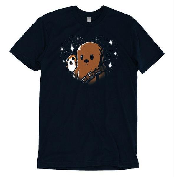 BFFs Chewie Porgs T-Shirt Star Wars