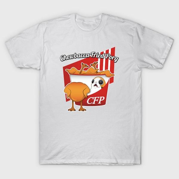 Chewbacca Fried Porg T-Shirt
