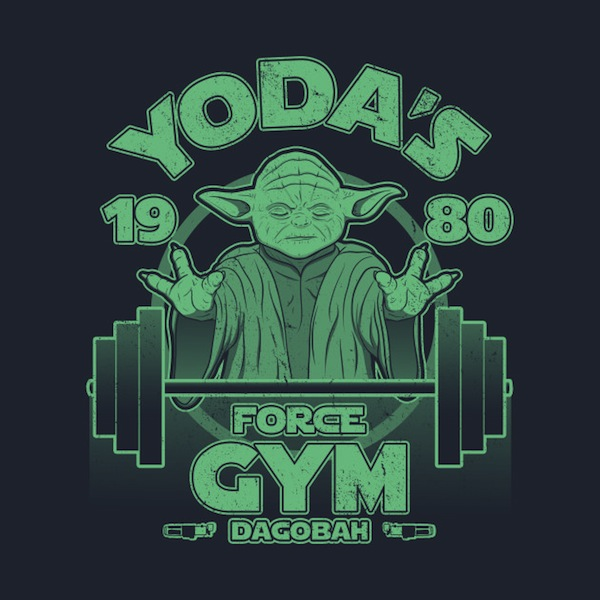Dagobah Gym - Star Wars T-Shirts