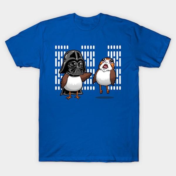 Dark Critter - Star Wars Porg T-Shirt