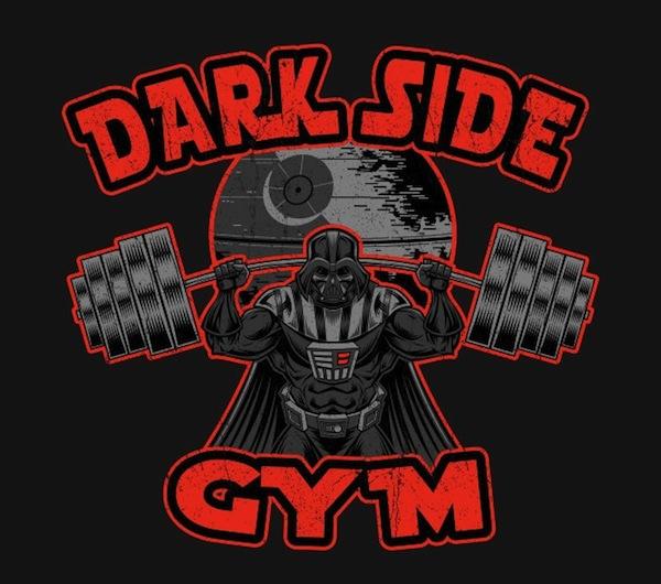 Dark Side Gym - Star Wars Activewear