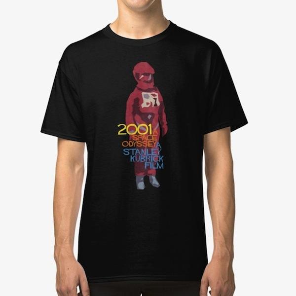Dave Bowman - Kubrick T-Shirts