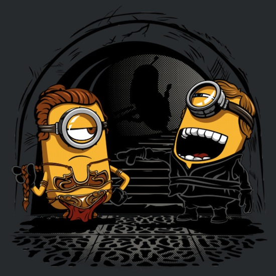Despicable Twins – Funny Tee