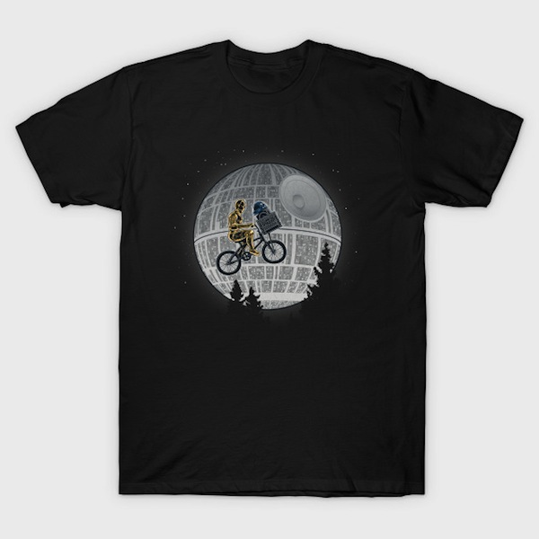 E2T2 - Funny Star Wars T-Shirt