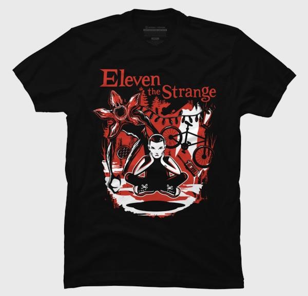 Eleven The Strange T-Shirts