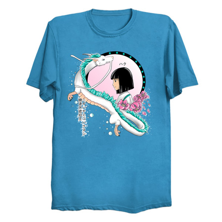Haku Kohaku Spirited Away T-Shirts