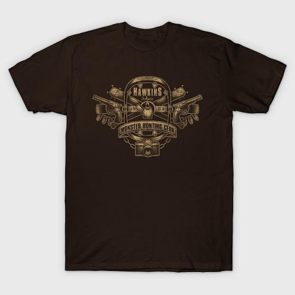 Hawkins Monster Hunting Club T-Shirt