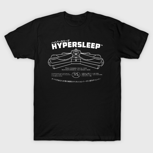 Hypersleep - Aliens Movie Inspired Tee