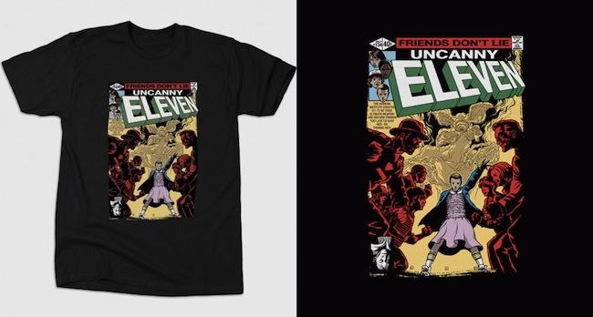 Issue 134 Parody - Stranger Things T-Shirts