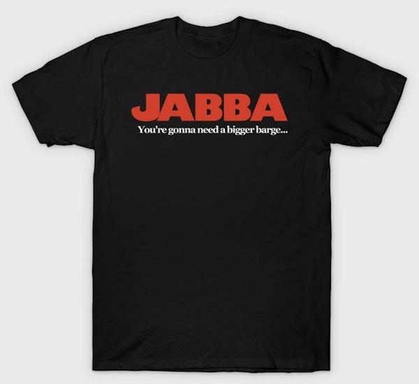 Jabba : Jaws Mash Up T-Shirt