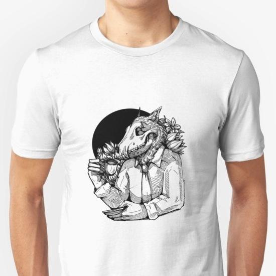 Jack likes tea - Skull T-Shirts