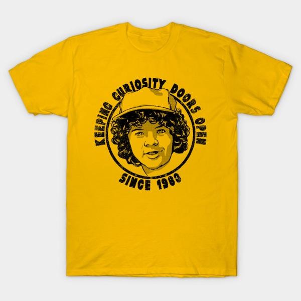 Keeping Curiosity Doors Open Parody T-Shirt