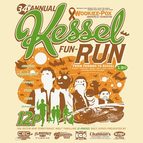 Kessel Fun-Run Funny Tee