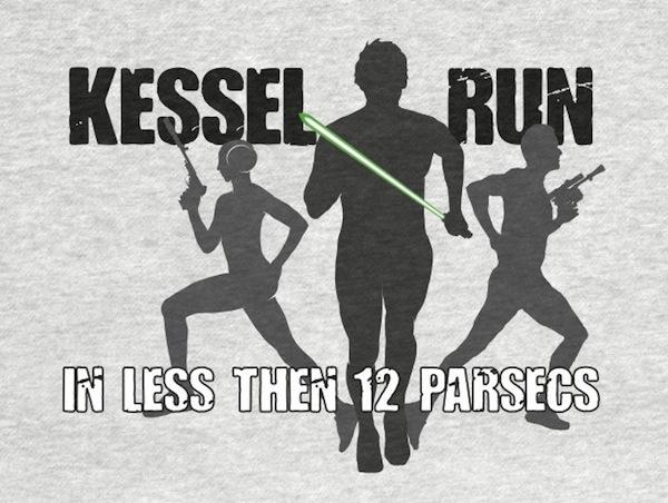 Kessel Running - Star Wars Activewear Apparel