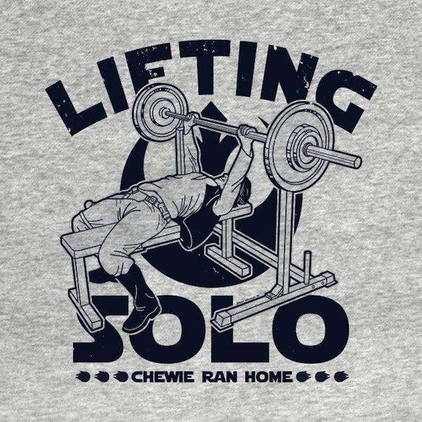 Lifting Solo B T-Shirt