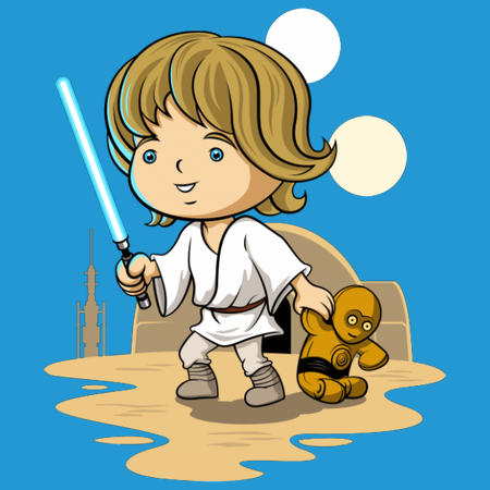 Little Rebel - Cute Kids Star Wars T-Shirts