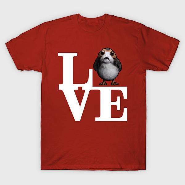 Love Porgs T-Shirt
