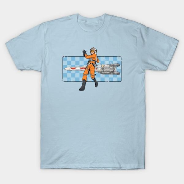 Luke Racer - Best Skywalker T-Shirts