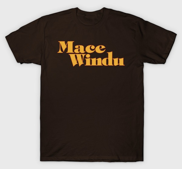 Mace Windu : Jackie Brown Mash Up Tee