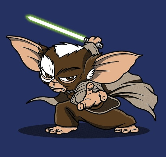 Master Mogwai – Funny Star Wars Tee