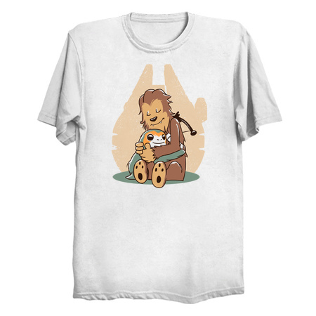Millennium Hug - Porg T-Shirts