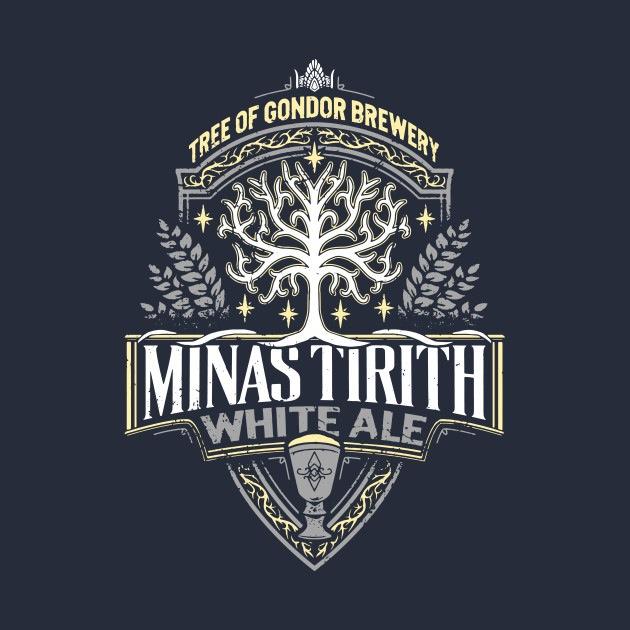 Minas Tirith White Ale Tees
