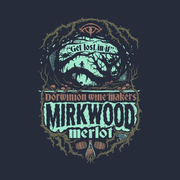 Mirkwood Merlot T-Shirts