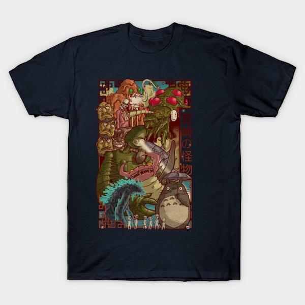 Miyazaki's Monsters T-Shirt