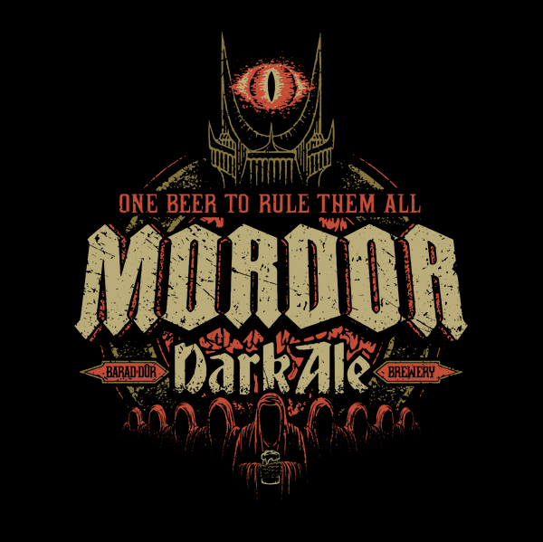 Mordor Dark Ale T-Shirts