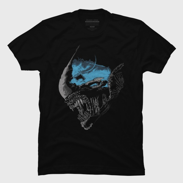 On A Dark Moon T-Shirt