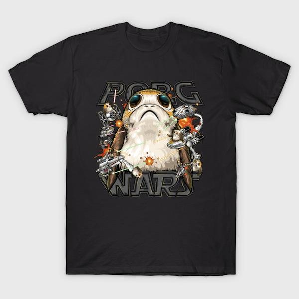 PORG WARS! T-Shirt - Star Wars Porg T-Shirts