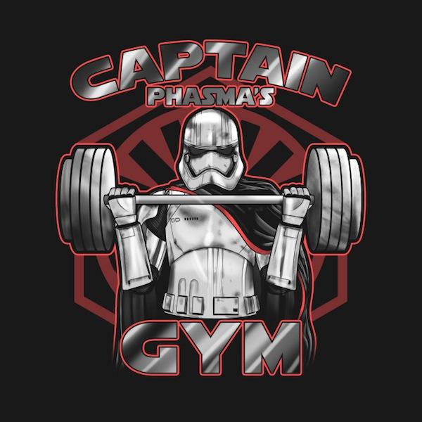 Phasmas Gym - Star Wars Apparel