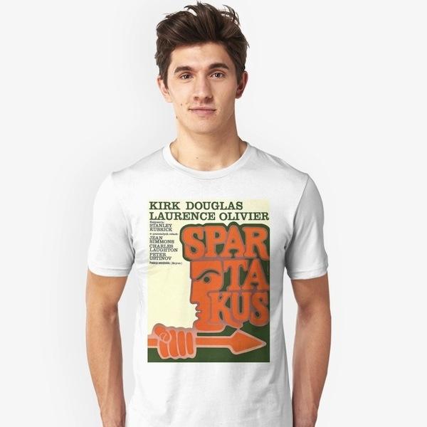 Polish Poster Spartacus - Kubrick T-Shirts