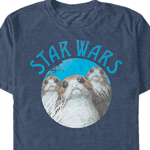 Porgs Star Wars The Last Jedi T-Shirt