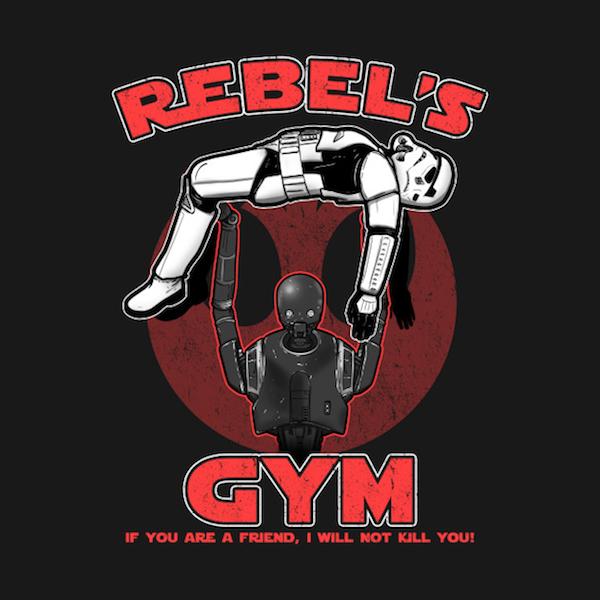 Rebels Gym - Star Wars apparel