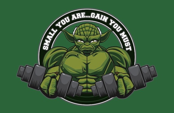 SMALL YOU ARE - GAIN YOU MUST Apparel