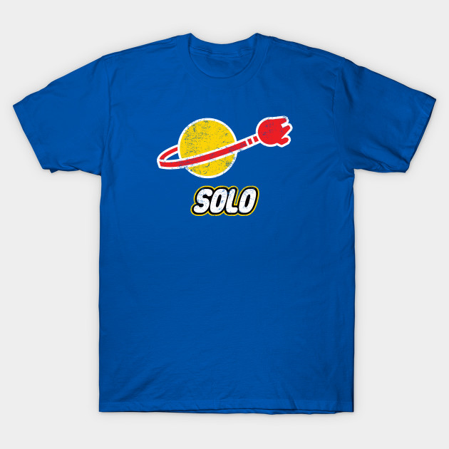 SOLO Funny Star Wars Lego T-Shirt