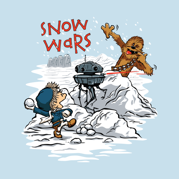 Snow Wars Tees
