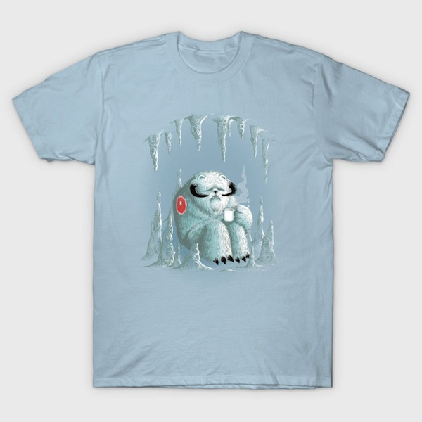Somewhere on the Ice Planet T-Shirt