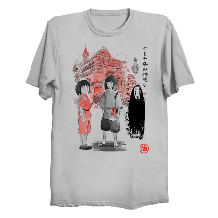 Spirited Sumi-e Tees