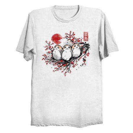 Starbird Porg - Star Wars Porgs T-Shirts