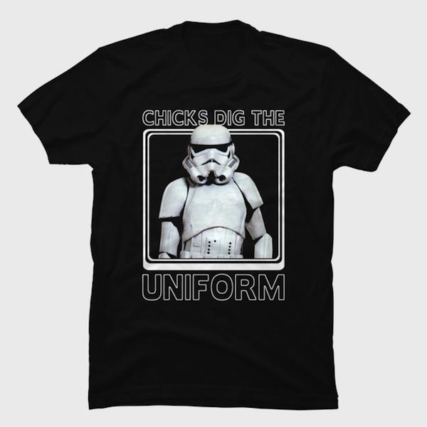 Stormtrooper Uniform Tee