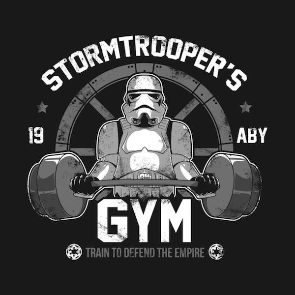 Stormtrooper's Gym - Star Wars Gym Apparel