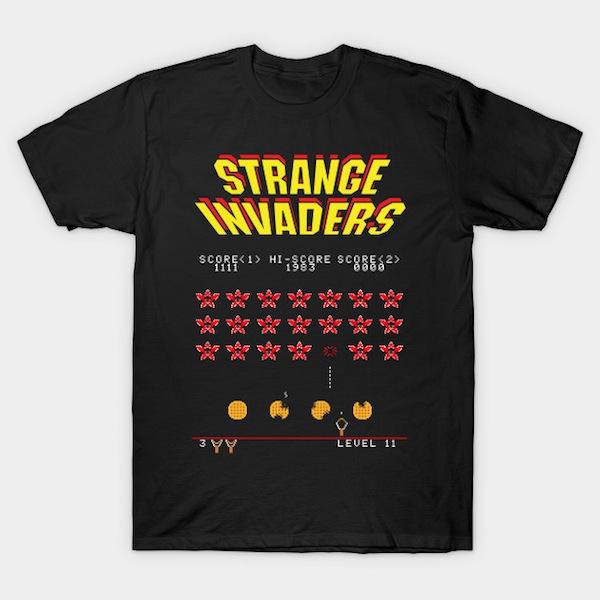 Strange Invaders - Stranger Things T-Shirts
