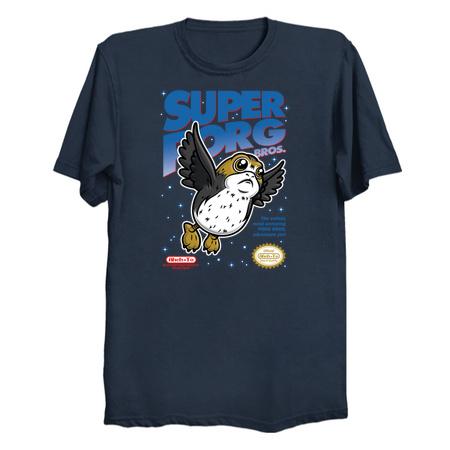 Super Porg Bros T-Shirts