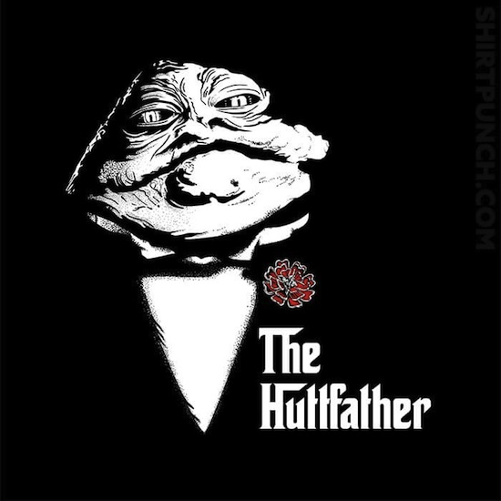 The Huttfather - Funny Star Wars T-Shirts
