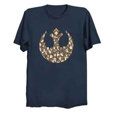 The Porgs Awaken - Star Wars Porg T-Shirts